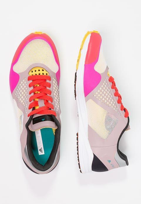 f483f97d adidas by Stella McCartney ADIZERO TAKUMI - Hardloopschoenen competitie -  zephyr/vapour grey/shock pink - Zalando.nl
