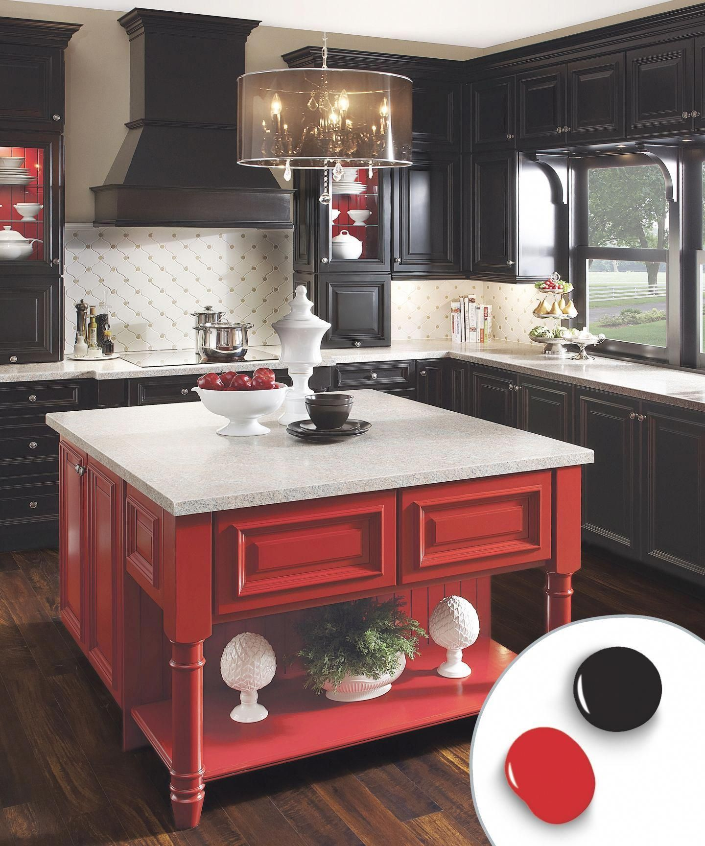 12 Kitchen Cabinet Color Combos That Really Cook In 2020 Kitchen Cabinets Color Combination New Kitchen Cabinets Kitchen Cabinet Colors