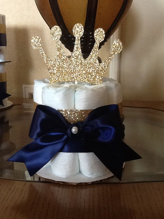 Miraculous Prince Baby Shower Centerpiece Go D And Navy Prince Baby Beutiful Home Inspiration Xortanetmahrainfo