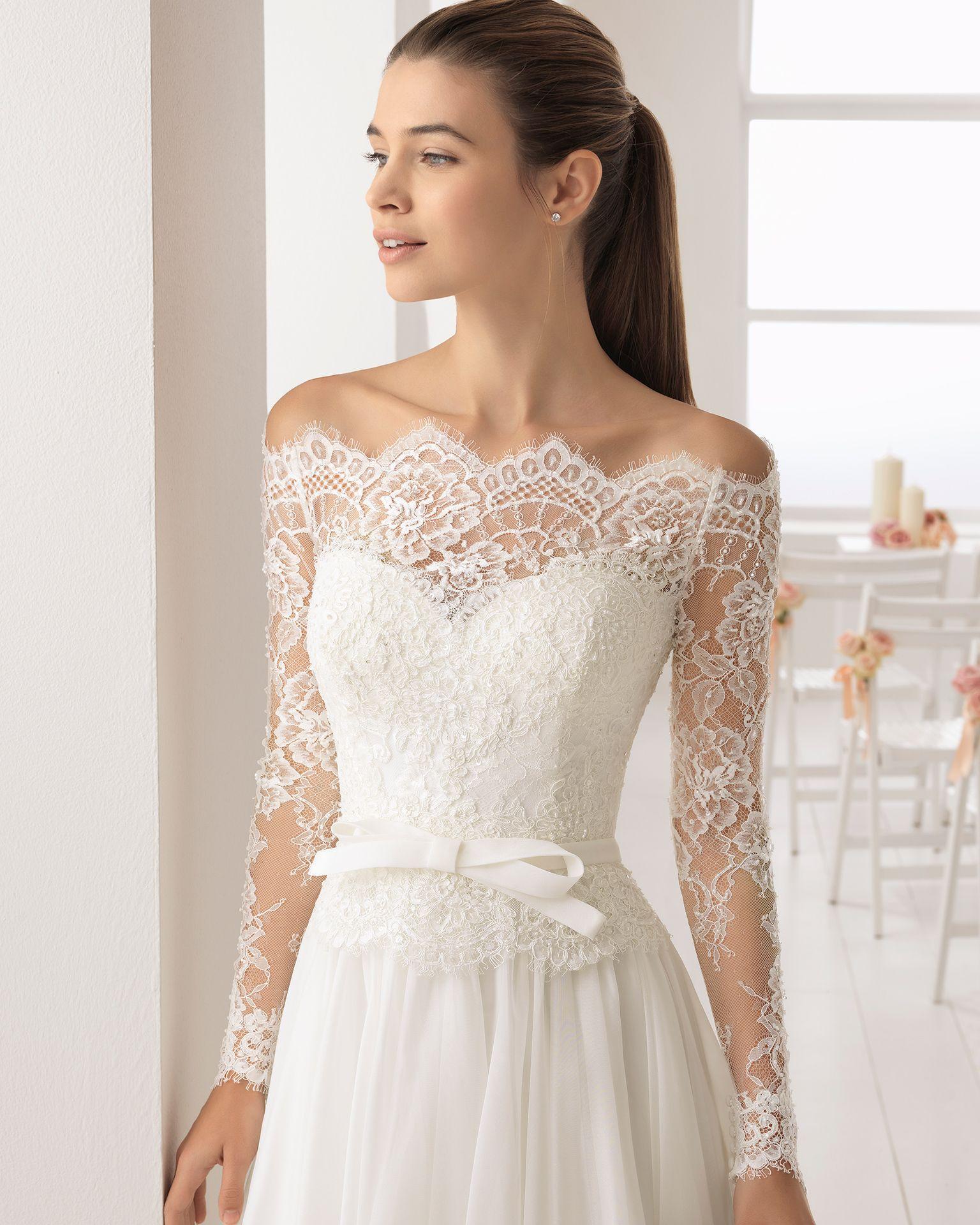Vestidos de novia estilo romanticos