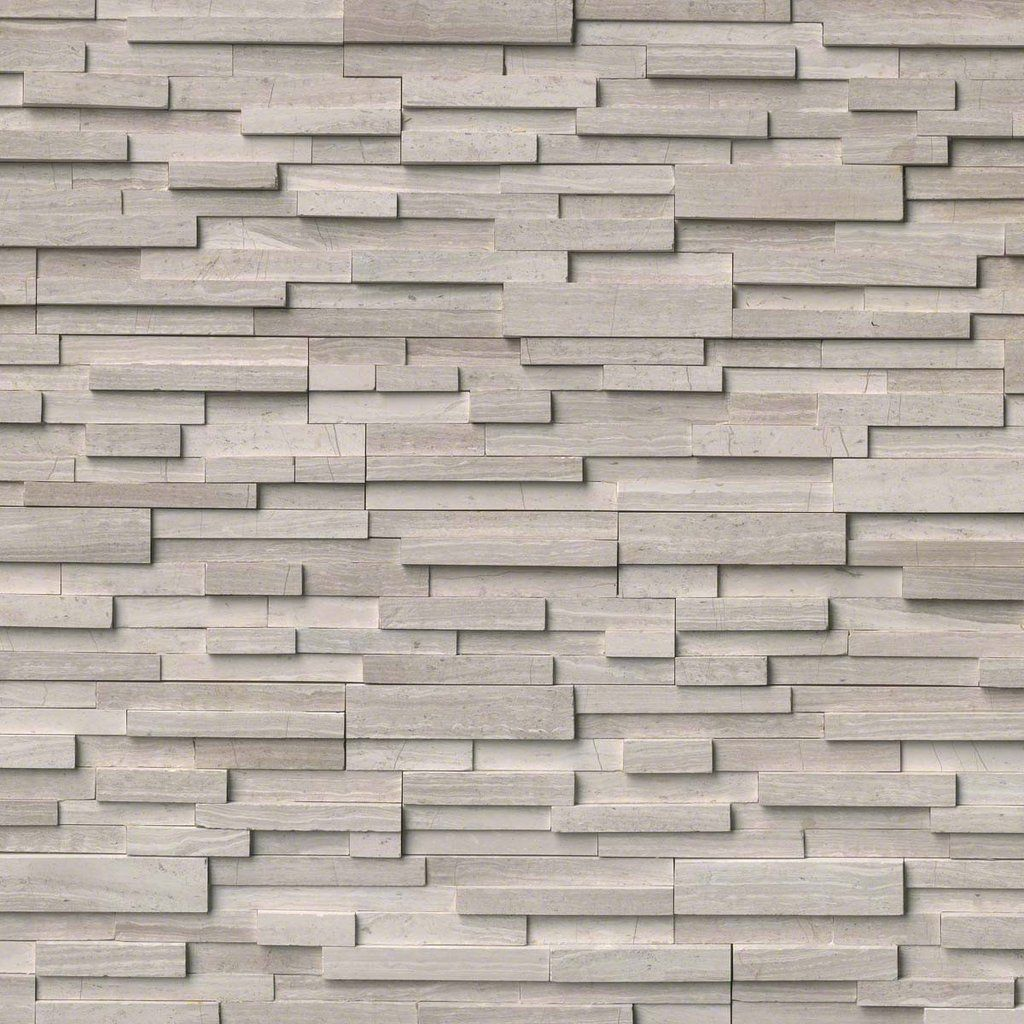 White Oak 3d Honed Ledger Stacked Stone Panels Stacked Stone Panels Marble Wall Tiles Stone Panels