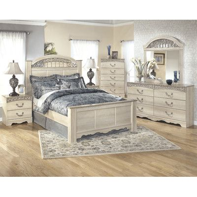 Astoria Grand Johnby Panel Customizable Bedroom Set ...