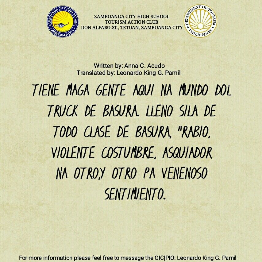 Chavacano Quote by Anna Acudo | Quotes, Writing, Leonardo