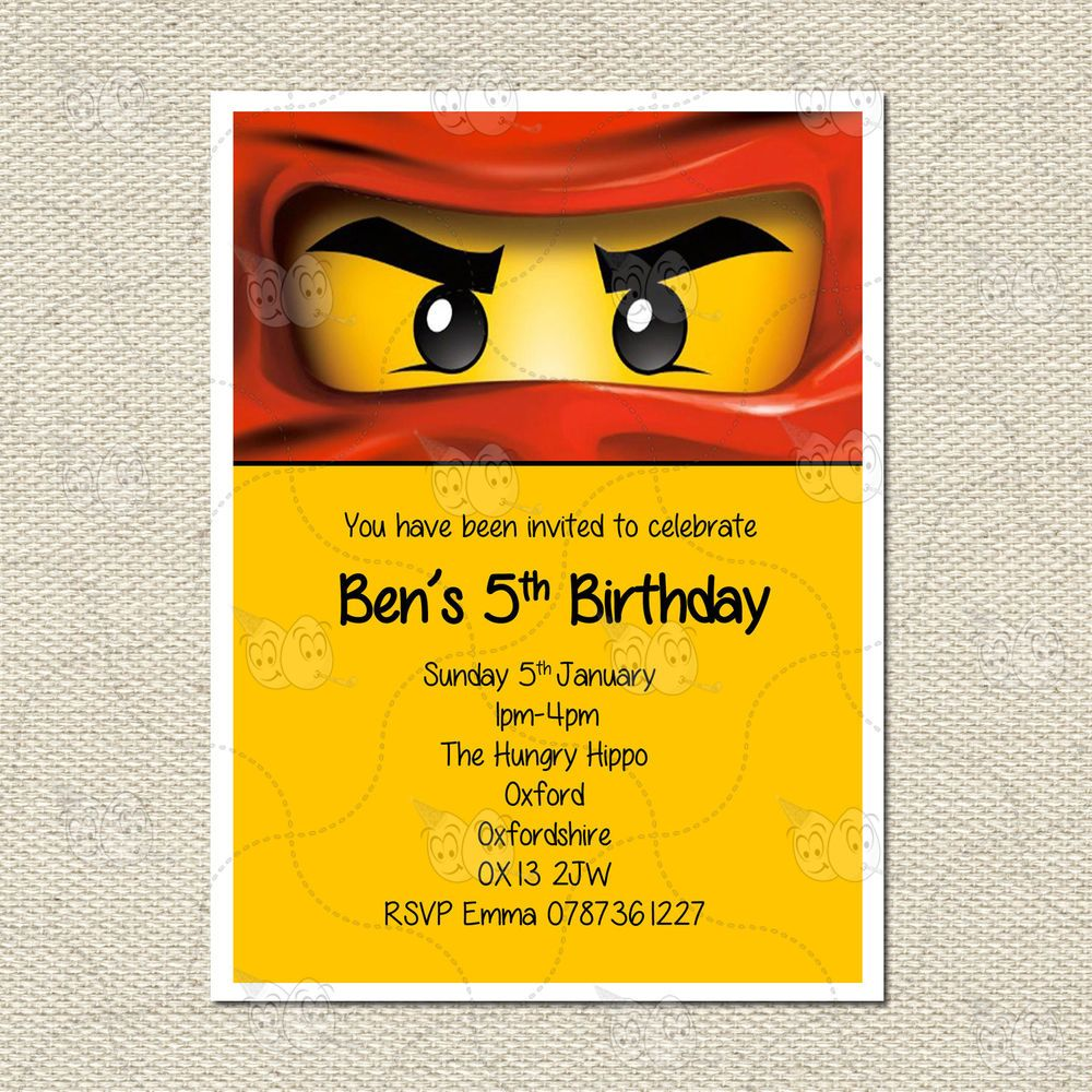 Httpiebayimgimagesi200998996378 0 1s l1000g personalised lego ninjago childrens kids party birthday invites inc stopboris Choice Image