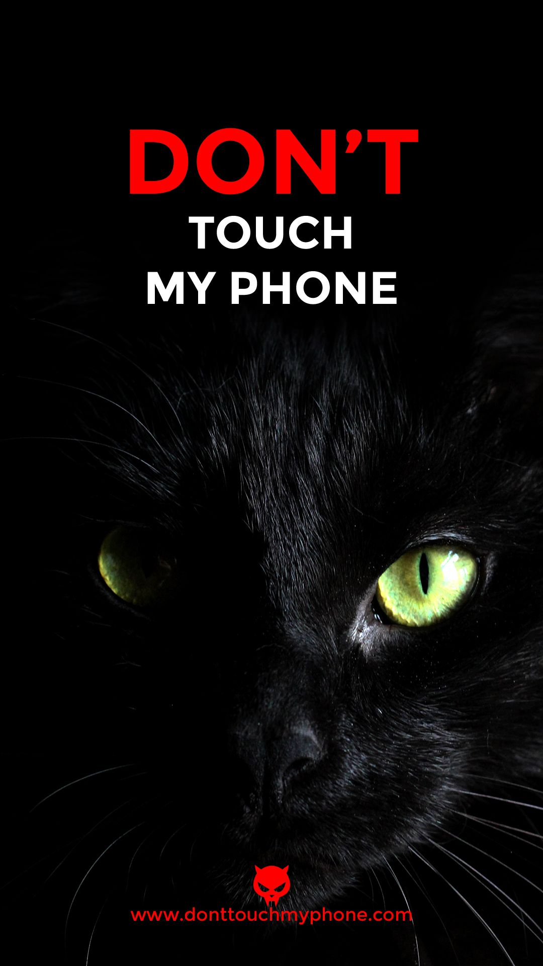Cat Mobile Wallpaper Dont Touch My Phone Wallpapers Funny Phone Wallpaper Pretty Phone Wallpaper