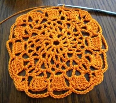 Lots of Crochet Stitches by M. J. Joachim: Lacy Square Motif 091712