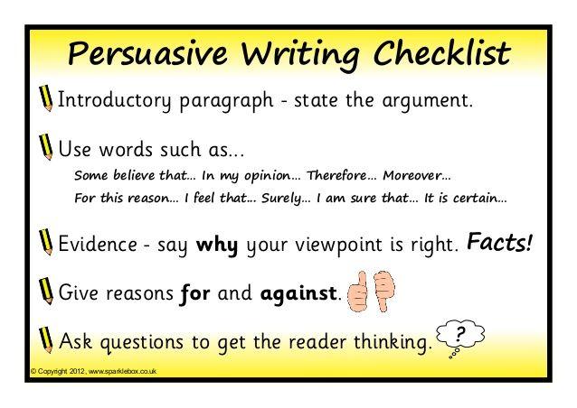 002 persuasive writing templates Persuasive writing