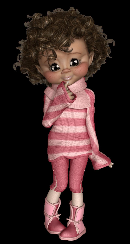 Larissa0635.png (800×1500) Fantasy doll, Cute dolls