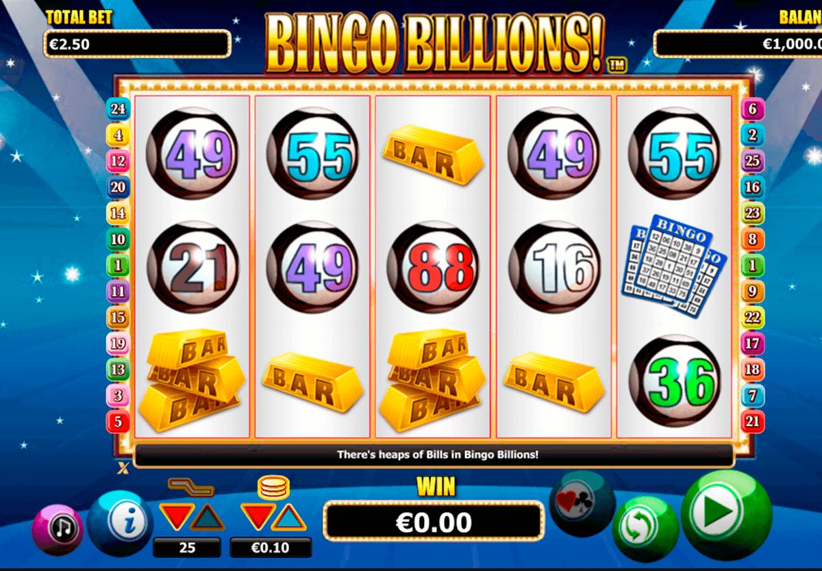 Bingo! Uusi ja jännittävä #NextGenGaming kolikkopeli Bingo Billions! Voittolinjan iso määrä ja hyvä mahdollisuus voittaa!