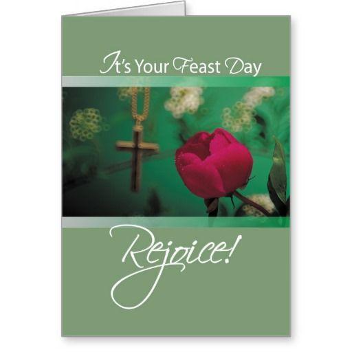 2686 feast day rejoice card religious christian pinterest 2686 feast day rejoice greeting card m4hsunfo