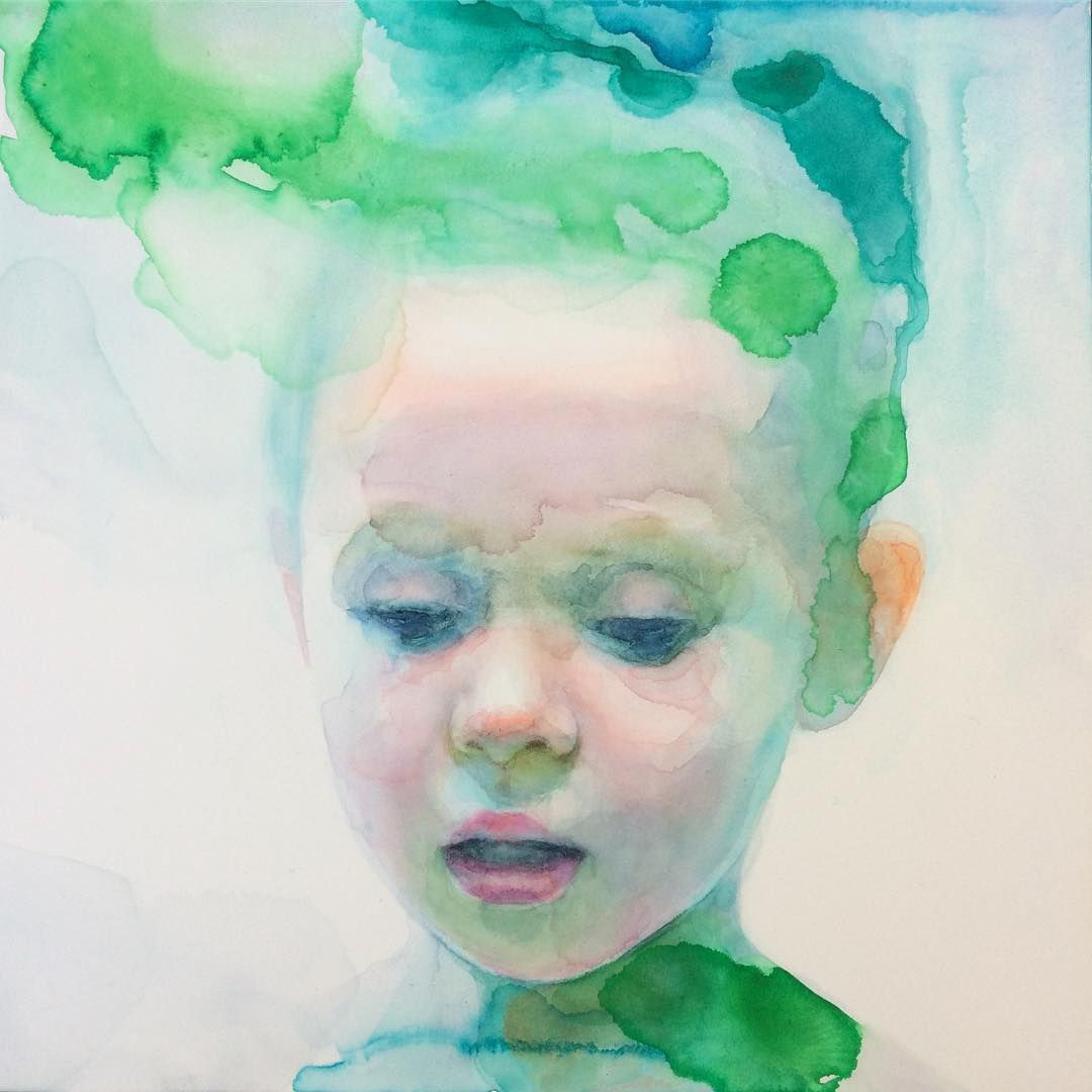Immerse Yourself in the New Work of Watercolorist Ali