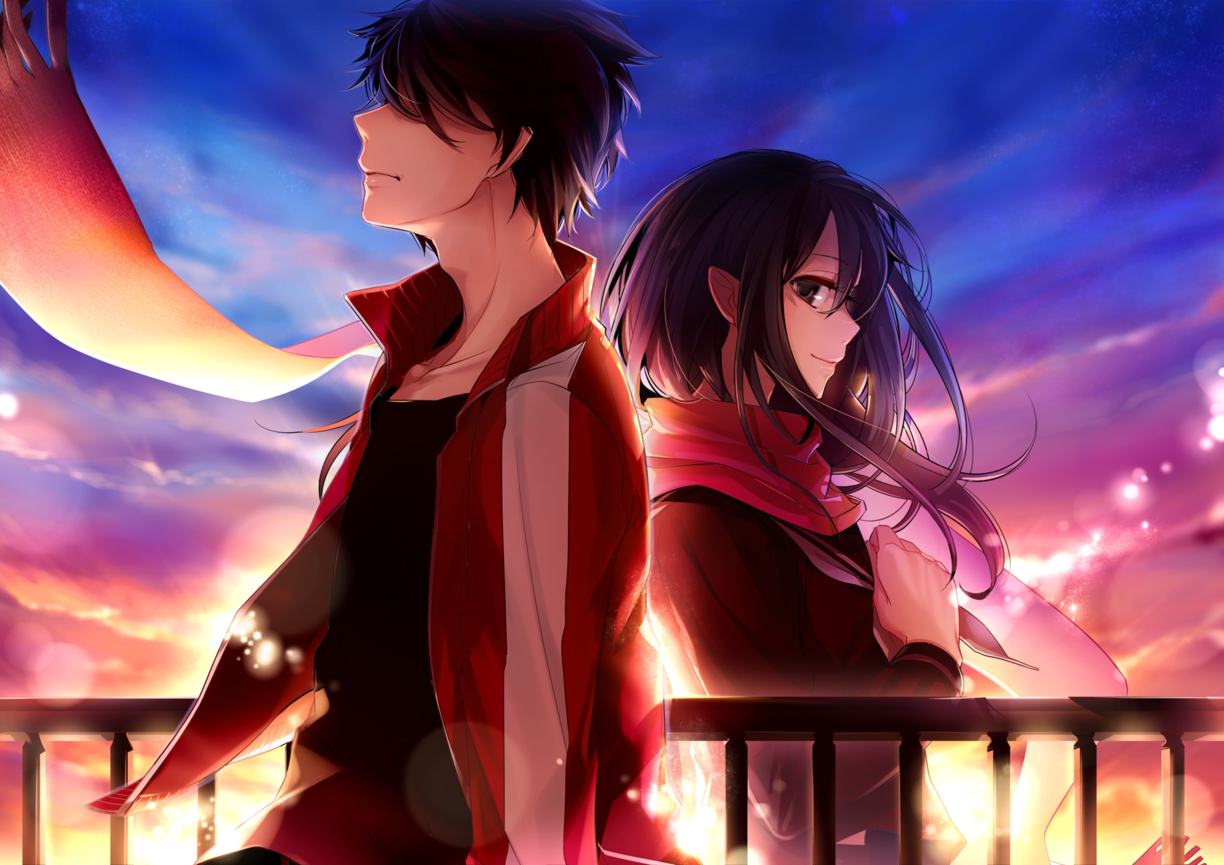 Ayano Tateyama and Shintaro Kisaragi Animasi, Gadis