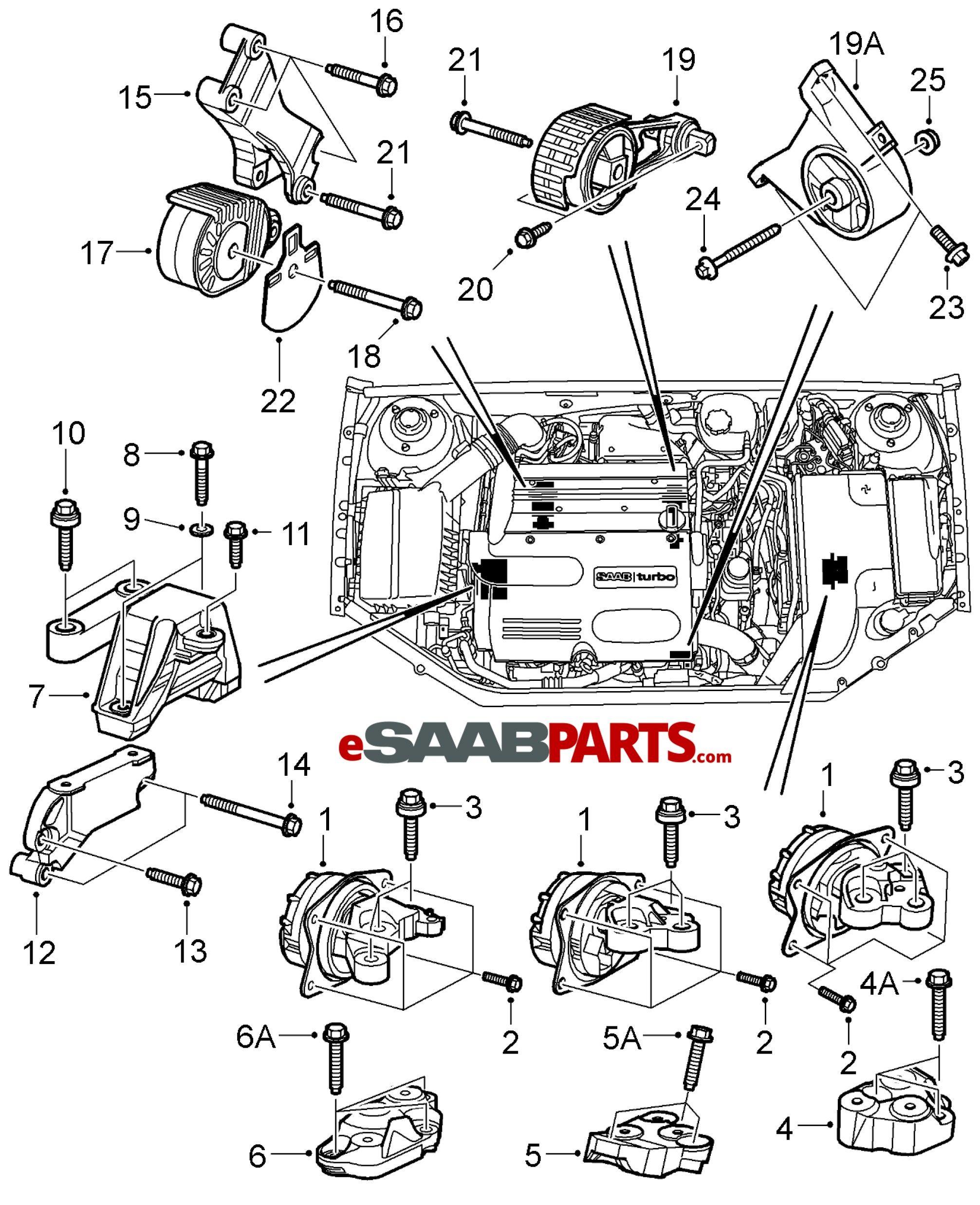 Saab 9 5 Engine Diagram 2