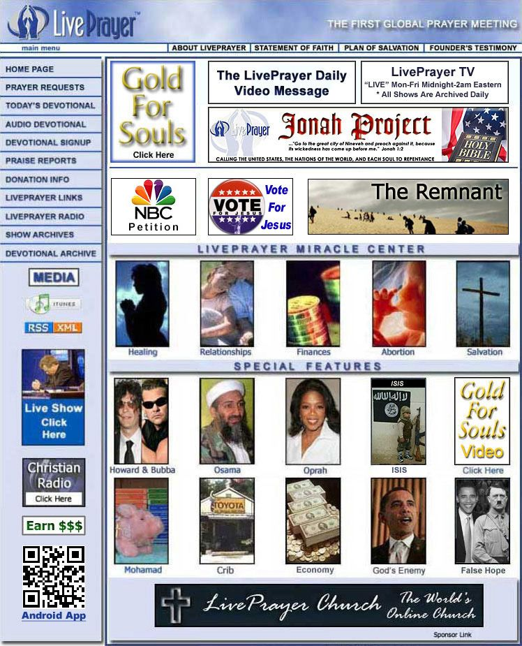 Prayer Requests and Miracles 24 hours a day! Prayer