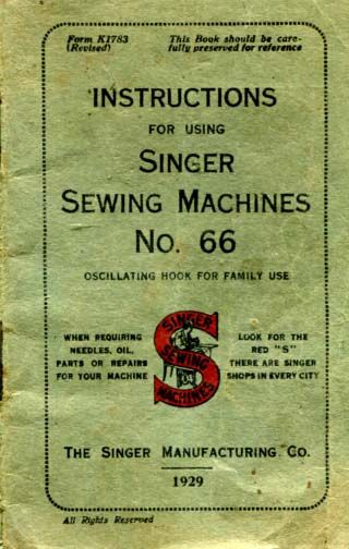 Singer Model 40 Sewing Machine Manual Sewing Machines Pinterest Unique Antique Singer Sewing Machine Manual