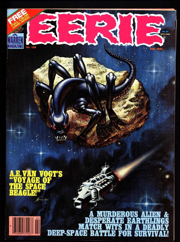 Eerie 139 Last Issue Classic Horror Comic Warren Magazine Science
