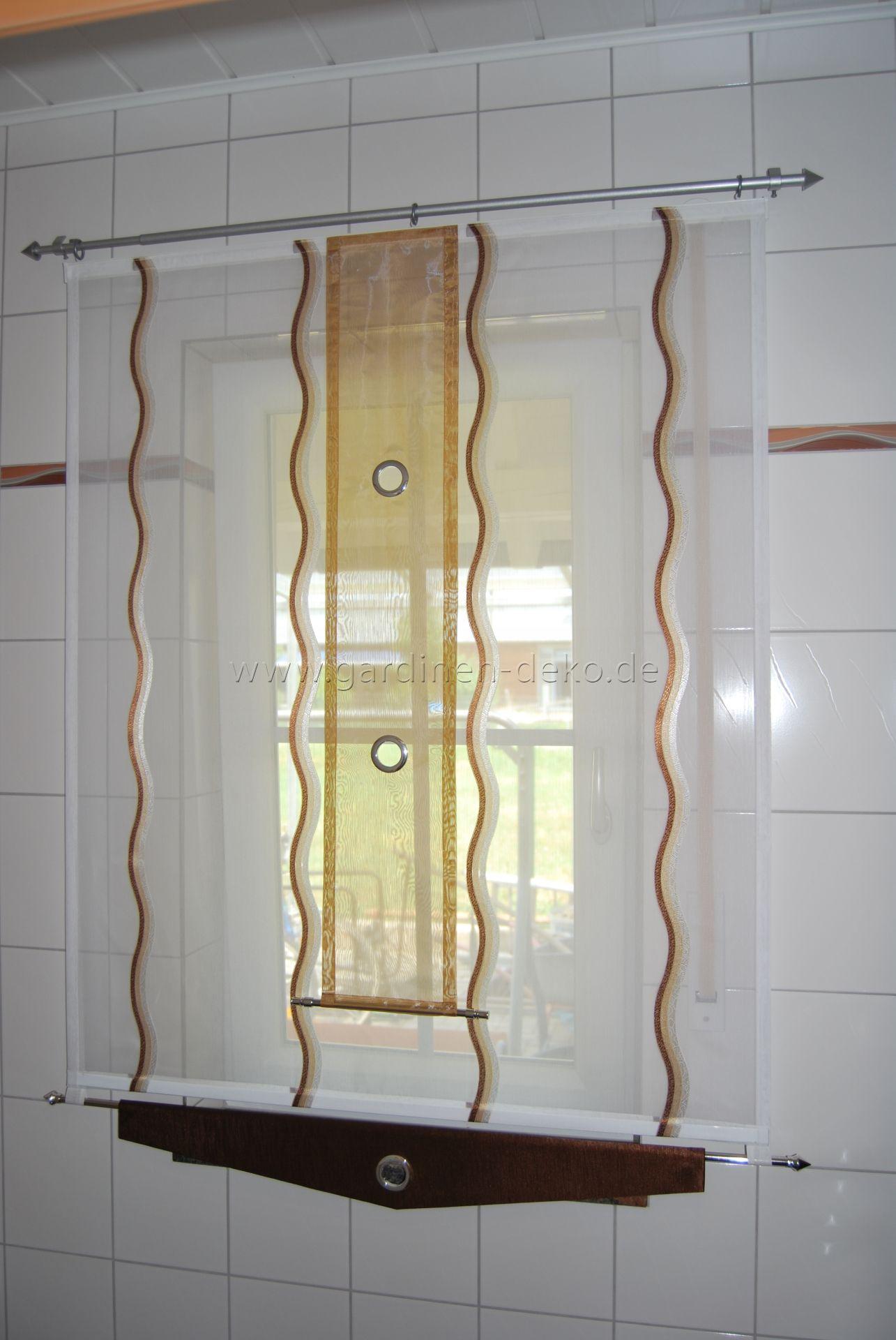 Kleiner moderner Badezimmer Schiebevorhang mit Ösen - http://www ...