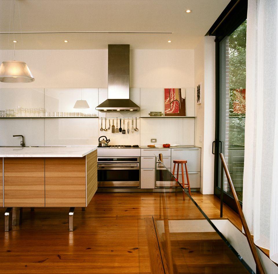 Simple Kitchen White Kitchen Island Traditional Kitchen Interior Kitchen Design