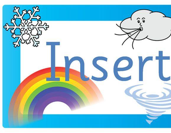 Teacher's Pet - Editable weather banner - FREE Classroom Display ...
