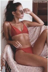 30 Red Swimwear Styles We Love in 2019   What to Wear   Bikinis ... 334d8dd2e00