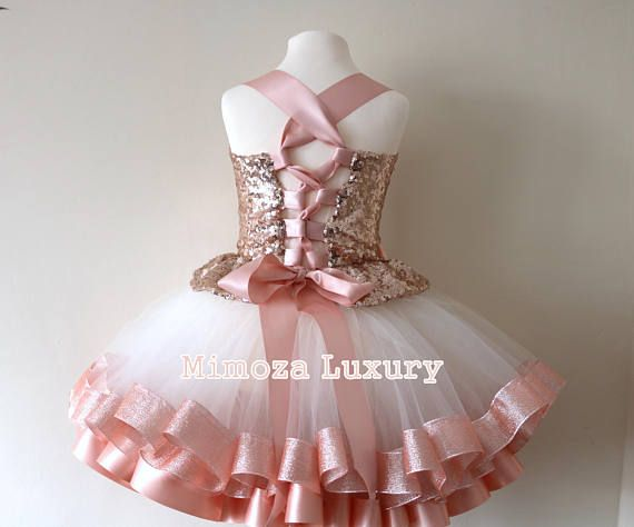 334824c92f3e5 Luxury Rose Gold Birthday Outfit rose gold girls birthday