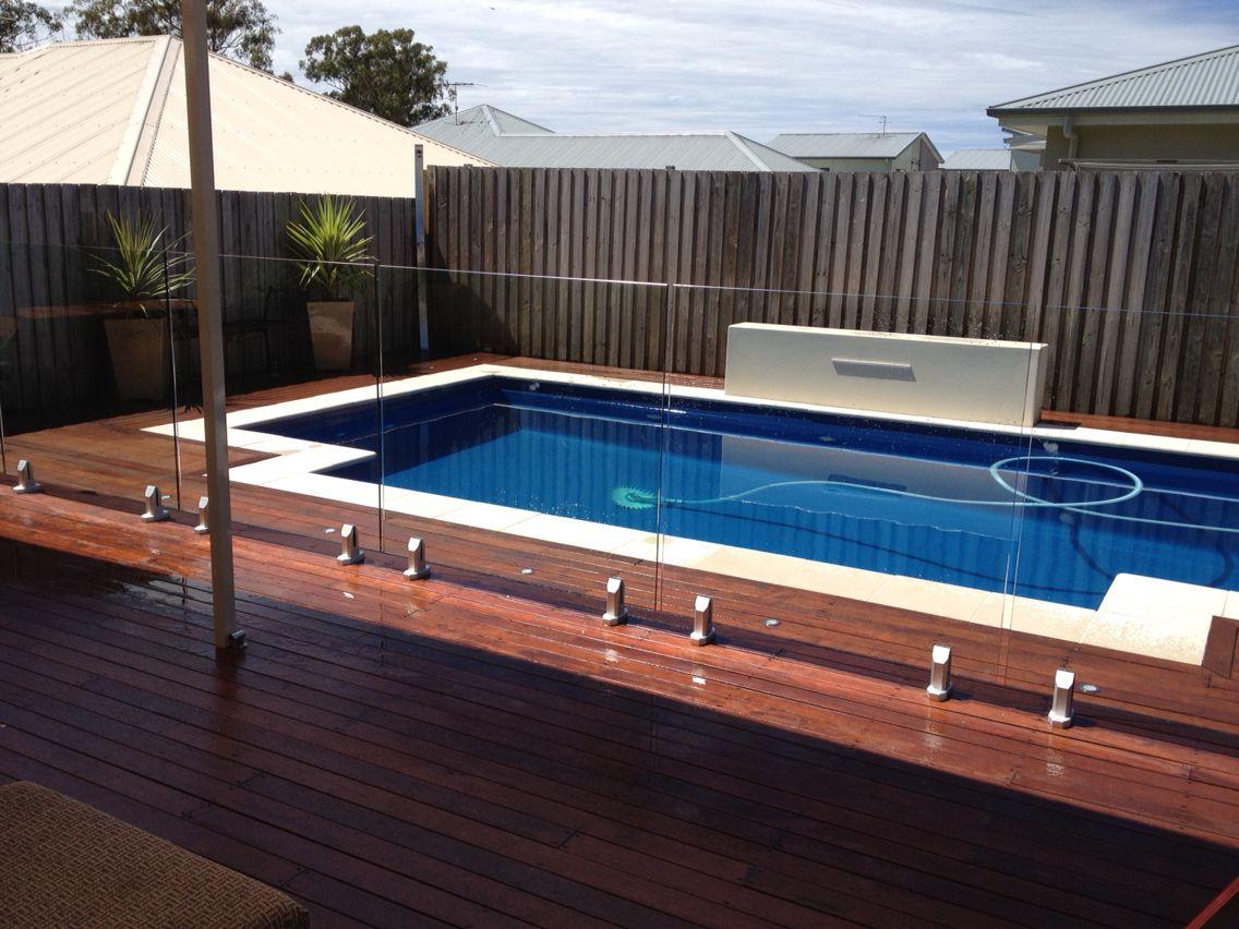 Merbau Decking Around A Freedom Pool Pool Landscape