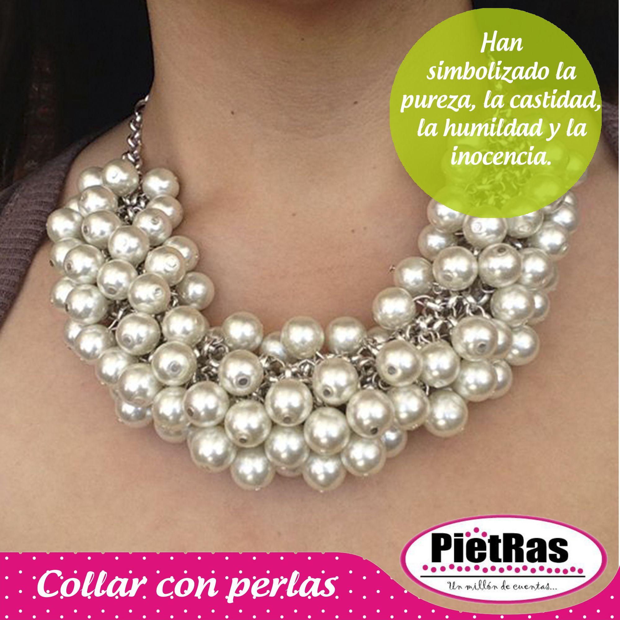 63a5194ef1c3 Luciendo increíble con este collar de perlas ¿qué les parece usarlo esta  noche