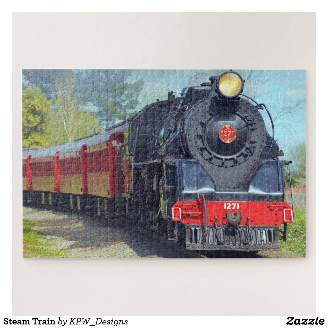 Steam Train Jigsaw Puzzle in 2020 Train