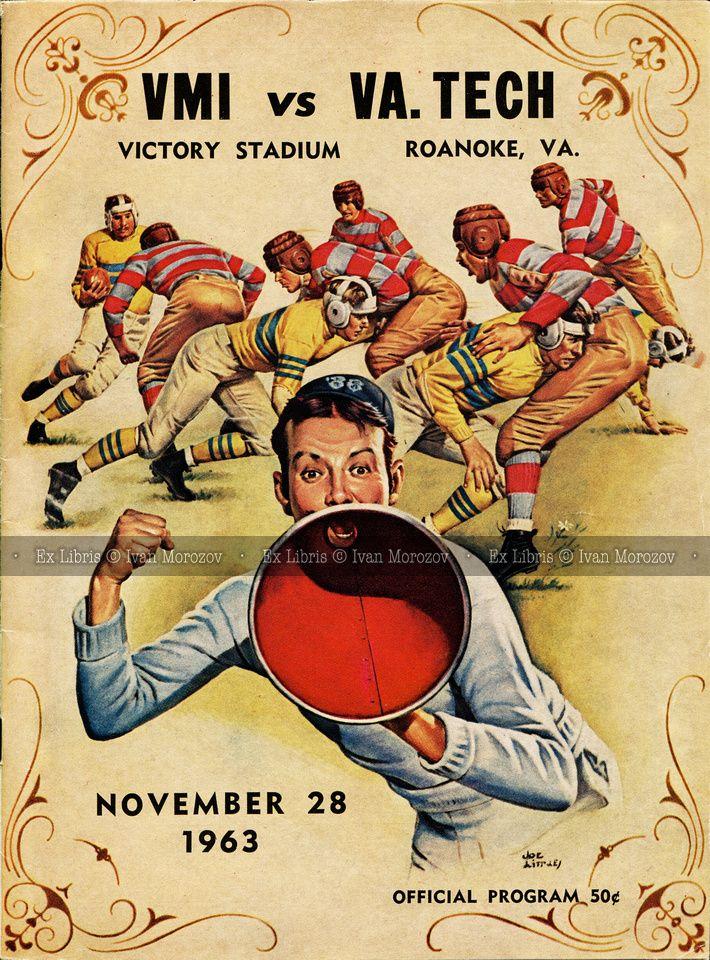 1963.11.28. Virginia Tech (Hokies) vs Virginia Military