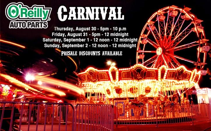 O'Reilly Auto Parts Carnival | PalominoFest Events | Scary carnival
