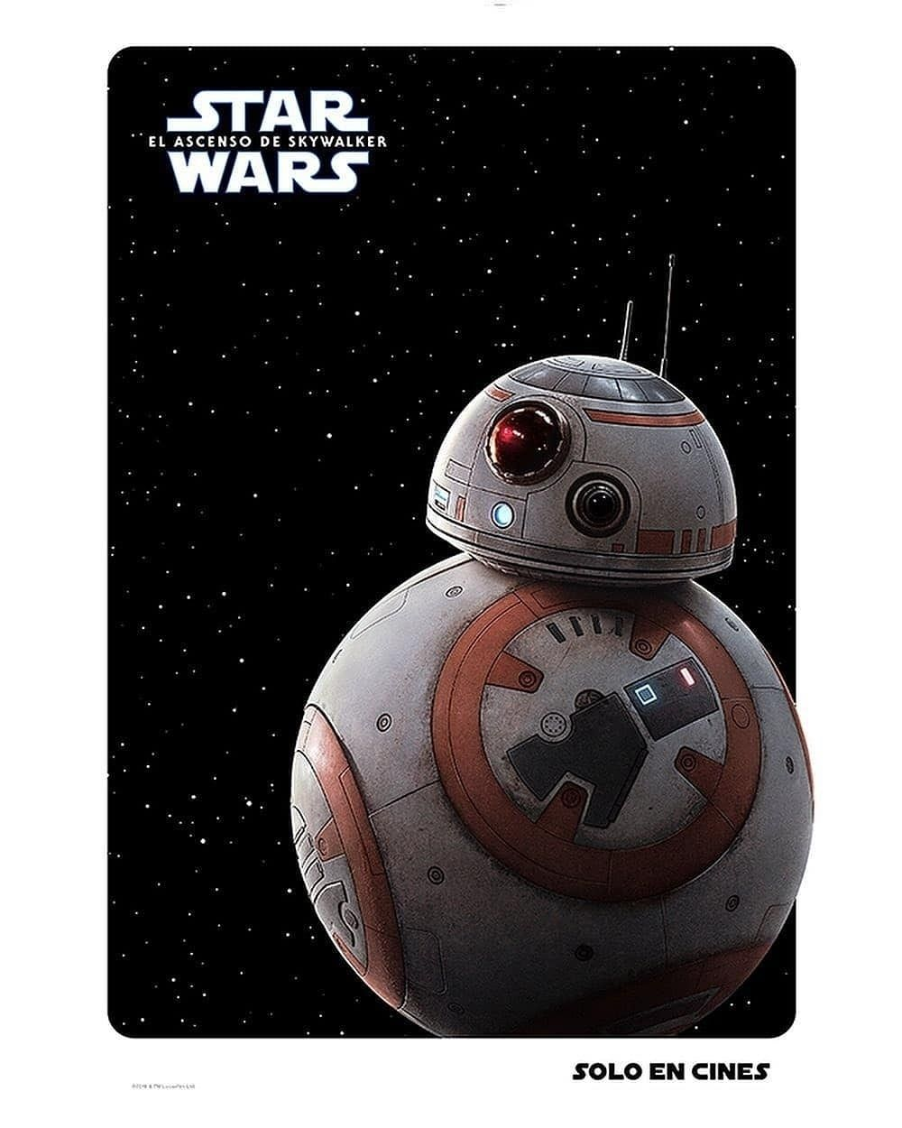 Star Wars El Ascenso De Skywalker Posters De Personajes Star Wars Solo En Cines Personajes
