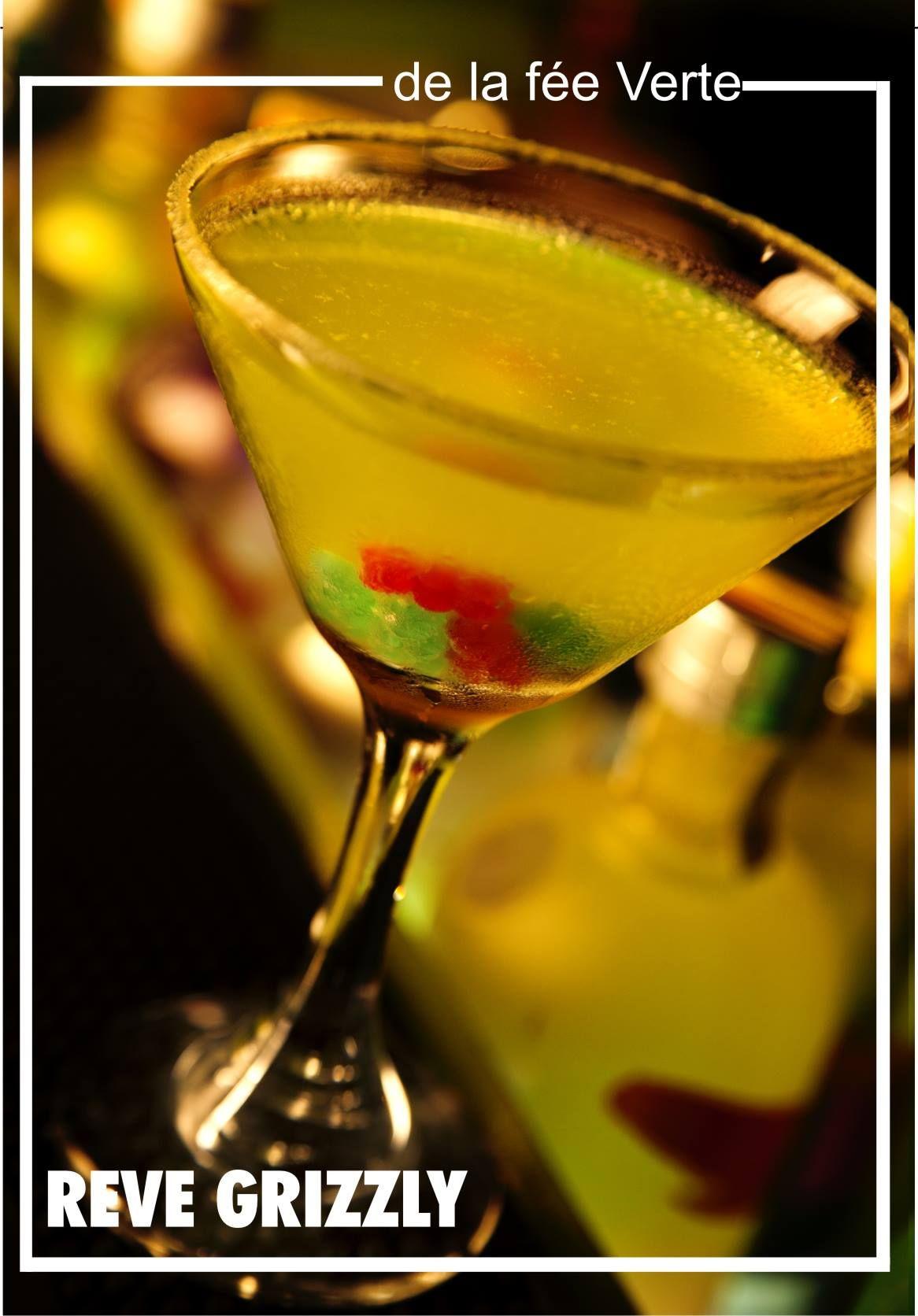 Nada Mejor Que Un Reve Grizzly Cocktail Una Deliciosa Combinacion