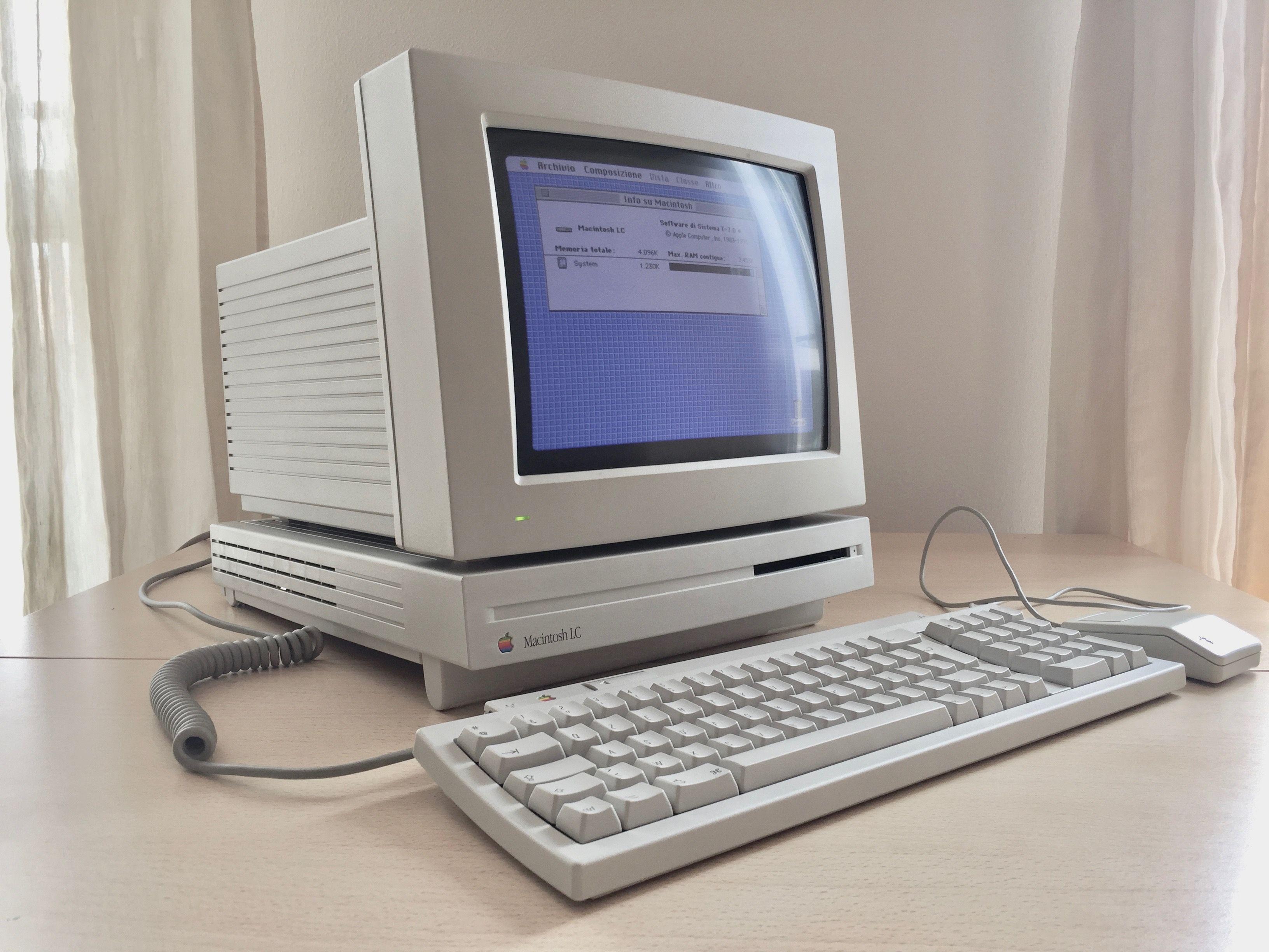 d5a67957f76 1990) Macintosh LC | Vintage Apple Computers in 2019 | Apple mac ...