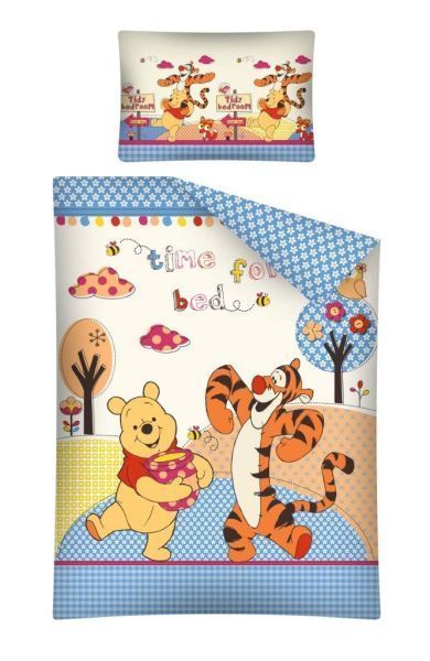 Captivating Disney Winnie Pooh Baby Bettwäsche 100x135cm Kinderbett 100 Baumwolle Puuh  18 Great Pictures