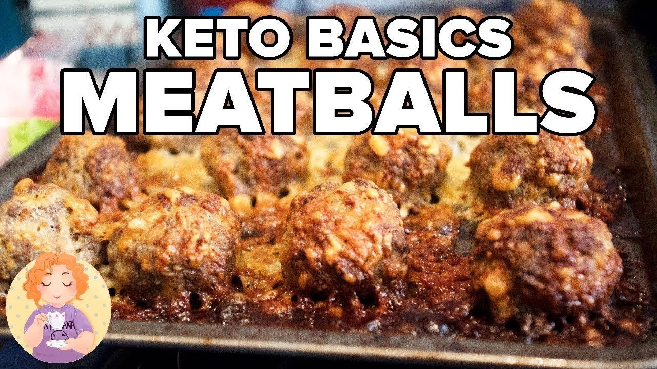 how to make keto meatballs without breadcrumbs