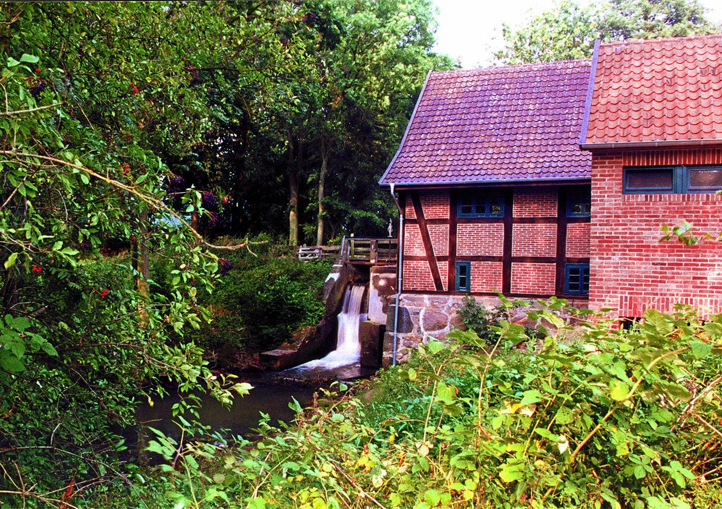 Naturpark Wildeshauser Geest: Die Wassermühle Ostrittrum