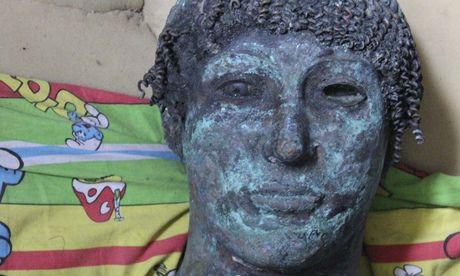 Mary Ann Bernal: 'Priceless' bronze statue of Greek god