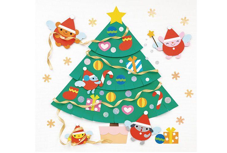 妖精さんのクリスマスツリー 季節の製作 のページです