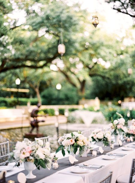 A Pink And Grey Themed Wedding At The Houston Zoo