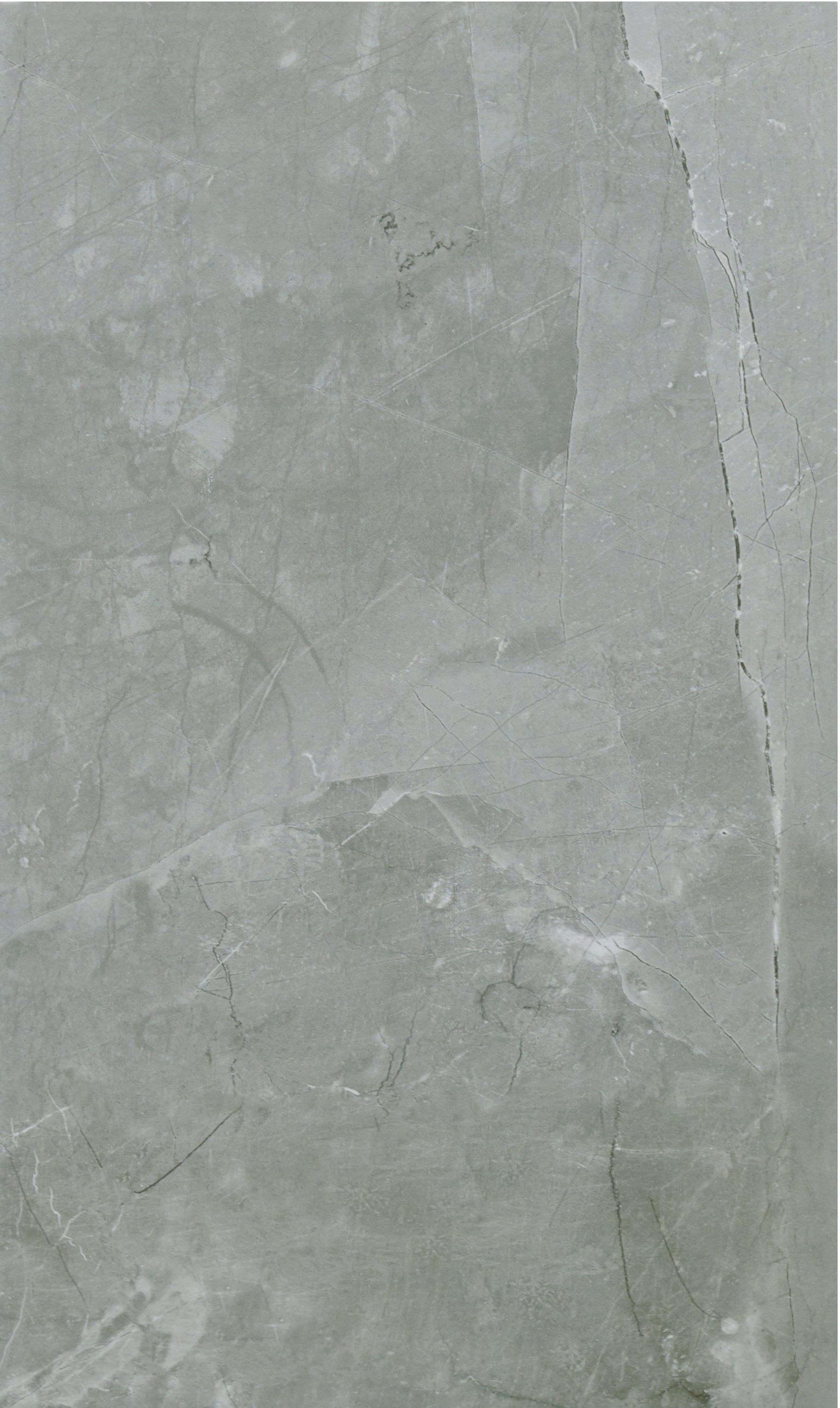 Arlington silver marble stone effect ceramic wall floor tile pack of 6 l 498mm w 298mm Ceramic stone tile