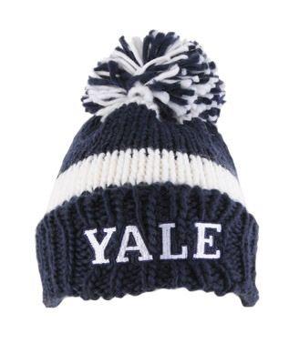 5996b2061cb Yale Pom Pom Beanie
