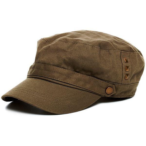 Fashion Unisex Cotton Cadet Distressed Hat Drape Military Peaked Warm Cap Hat