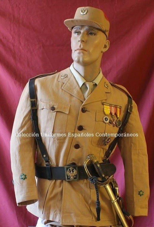 Uniformes españoles contemporáneos del ejército español. TENIENTE ...