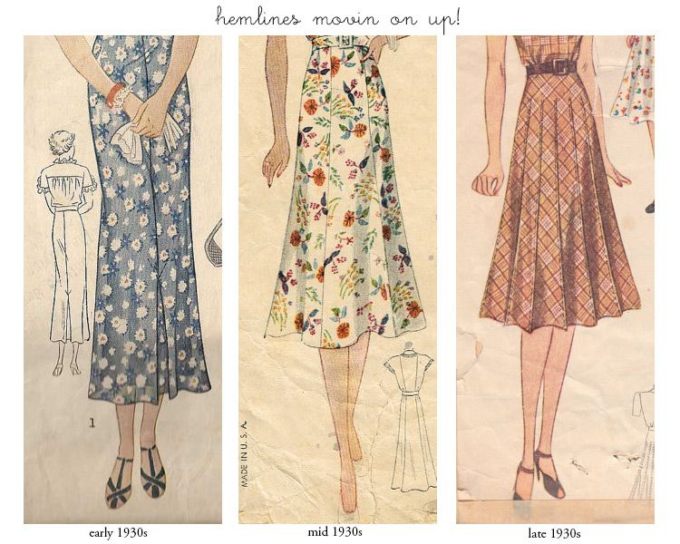 Learn about vintage clothing: Vintage 1930s Silhouette and Style ...