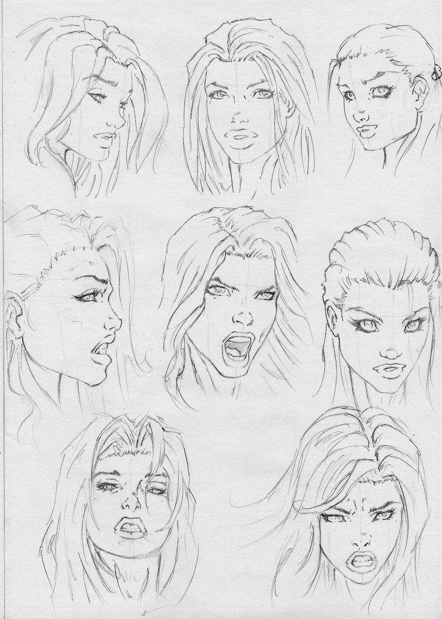 Some Expression By Rofelrolf Deviantart Com On Deviantart Band Comics Style In 2020 Comic Drawing Comic Face Comic Book Drawing