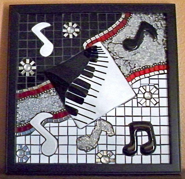 Ragtime Keyboard Mosaic by glassydame (Margo), via Flickr
