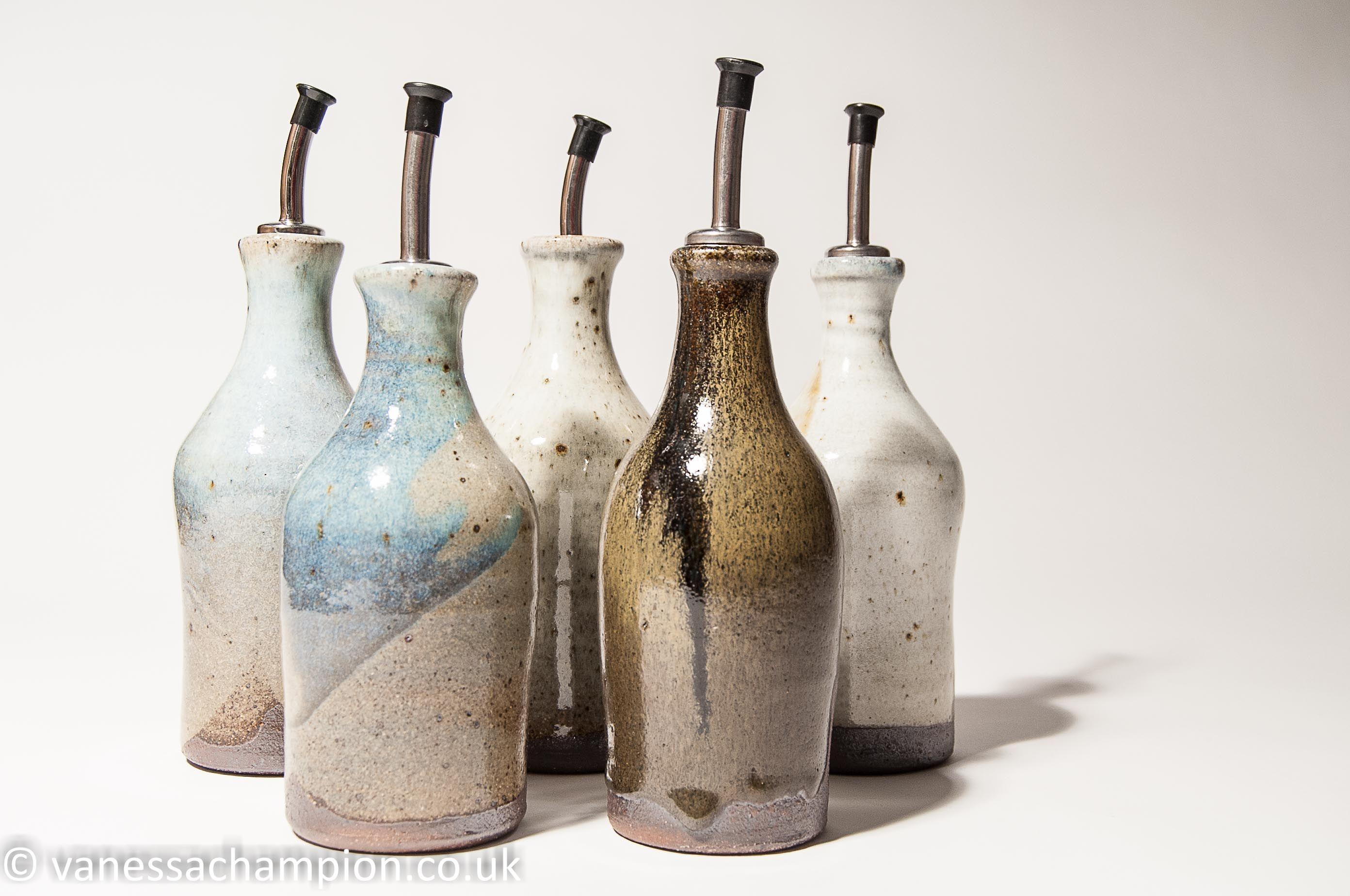 oil Pourer Pottery, Ceramics, Oil bottle