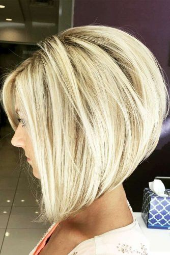 Stacked Bob Hairstyle Extraordinary 15 Beautiful Hairstyles With Aline Haircut  Bobs Haircuts And