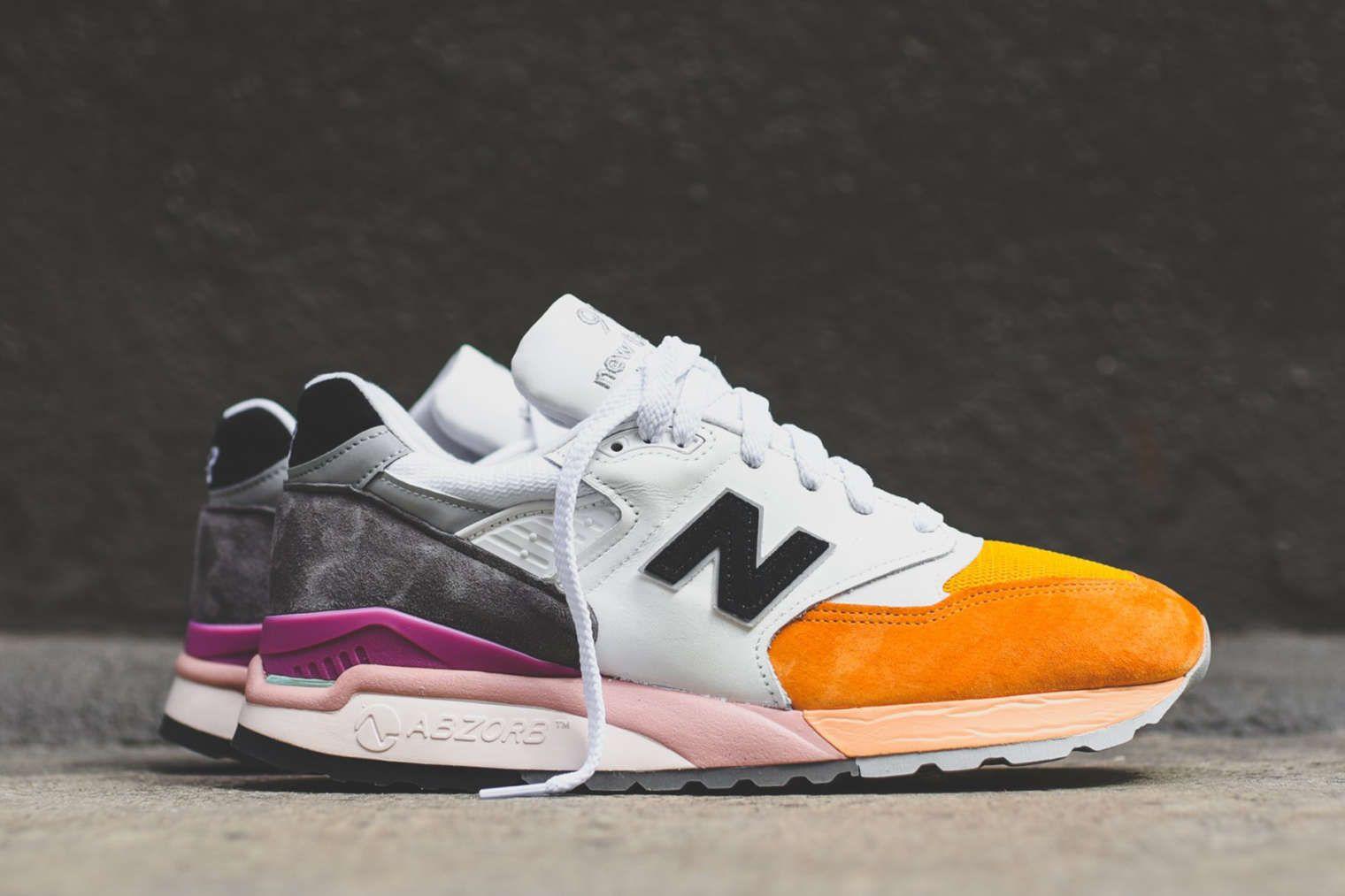 New Balance 998 in Orange \u0026 Berry | New