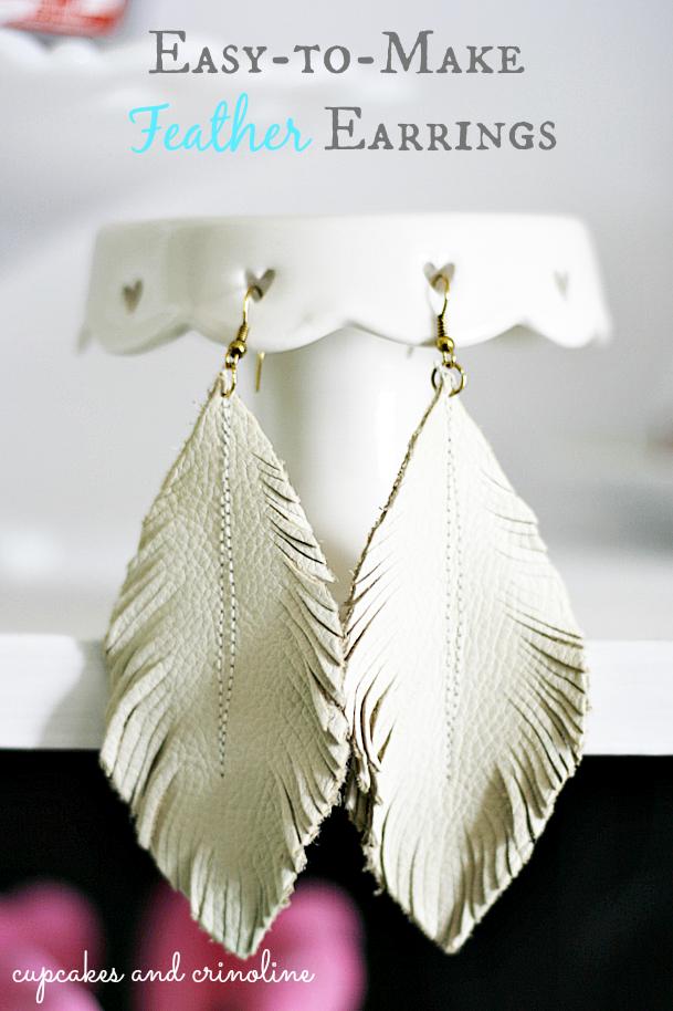 die besten 25 diy leather feather earrings ideen auf pinterest ohrringe aus leder. Black Bedroom Furniture Sets. Home Design Ideas
